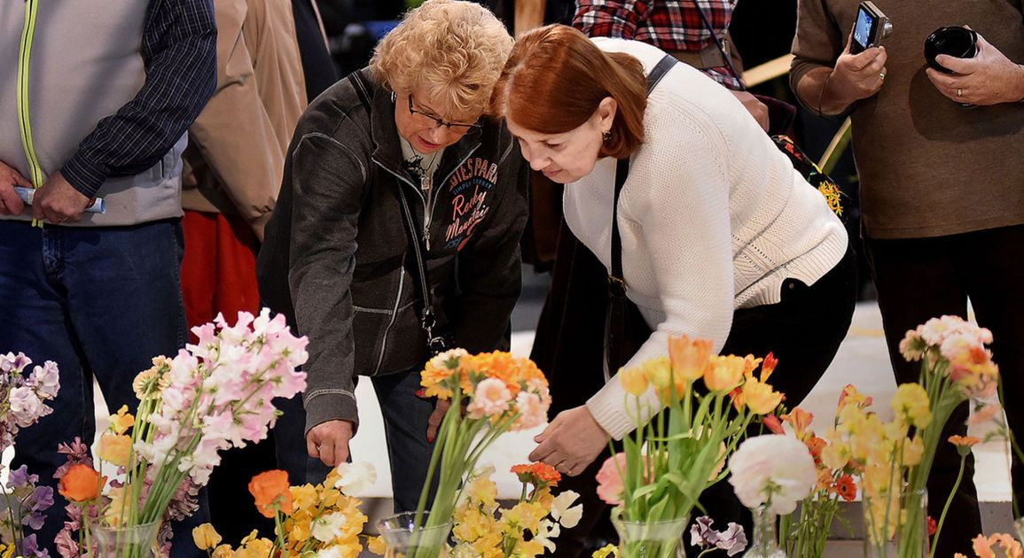 Video: The Philadelphia Flower Show Has Officially Opened