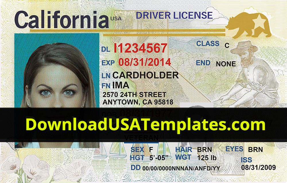 Pin on Drivers license california