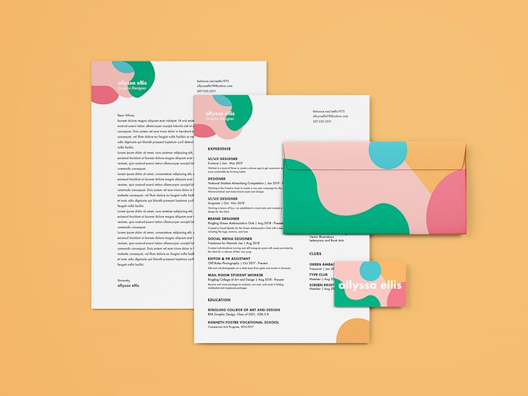 70 Creative & Beautiful Resume Examples to Get Inspired - Personal branding, Resume examples, Beautiful resume, Resume design creative, Graphic design resume, Branding - In this collection, we have handpicked 70 beautiful, fantastic, creative resume designs that you can use to get inspired