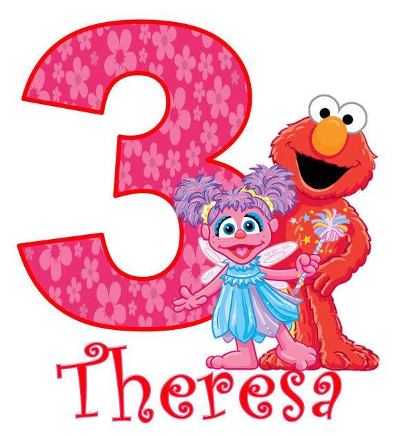 Elmo And Abby Cadabby Girls Birthday Shirt Girl Style