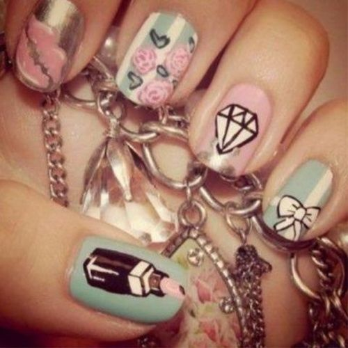 Designs Tumblr For Nail Cute Easy Nail Art Designs N A I L E D