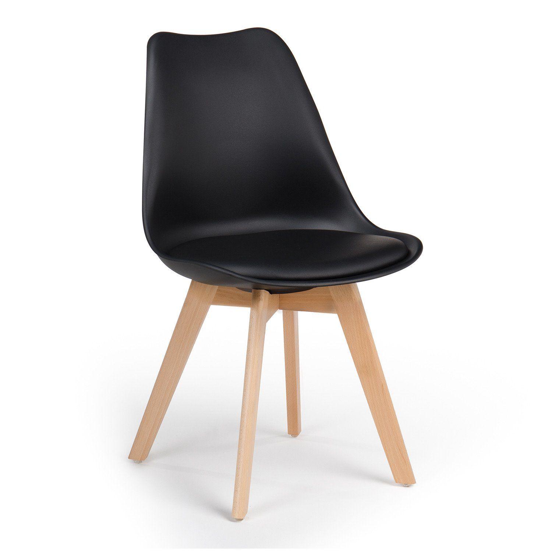 Chaise Nordic Decoration Interieure Simili Cuir Chaise