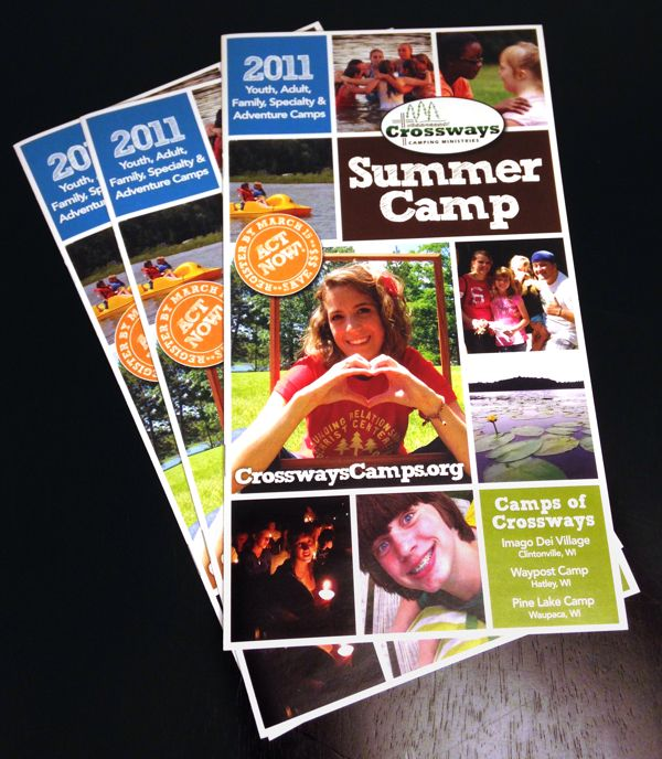 Summer Camp Brochure  About    Brochures And Brochure