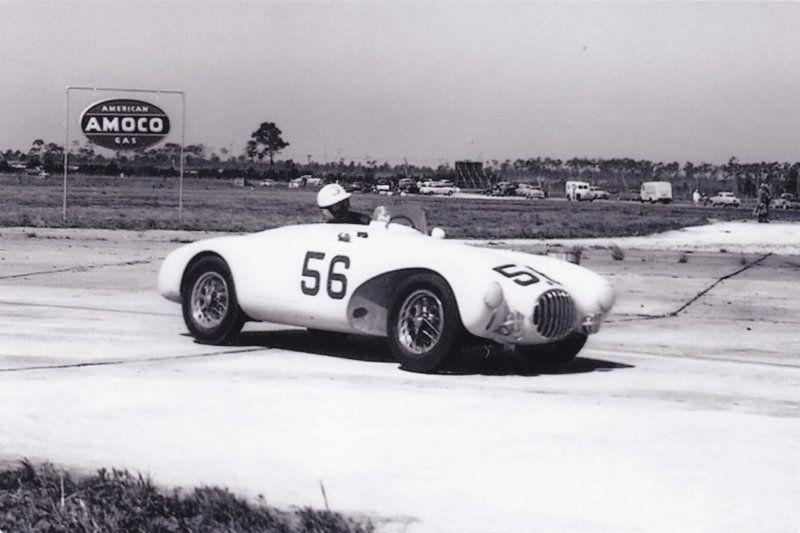 1954 No 56 Osca Mt4 1450 Bill Lloyd Stirling Moss Classic