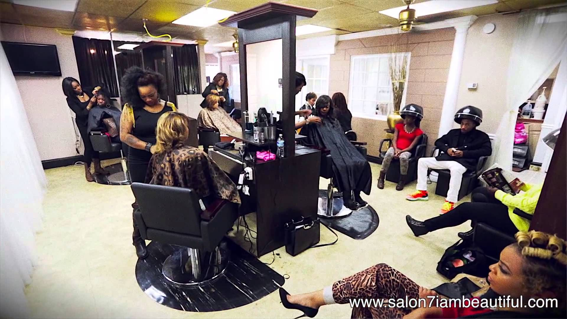 Image Result For Black Salon Black Hair Salons African American Hair Salons Weave Hairstyles