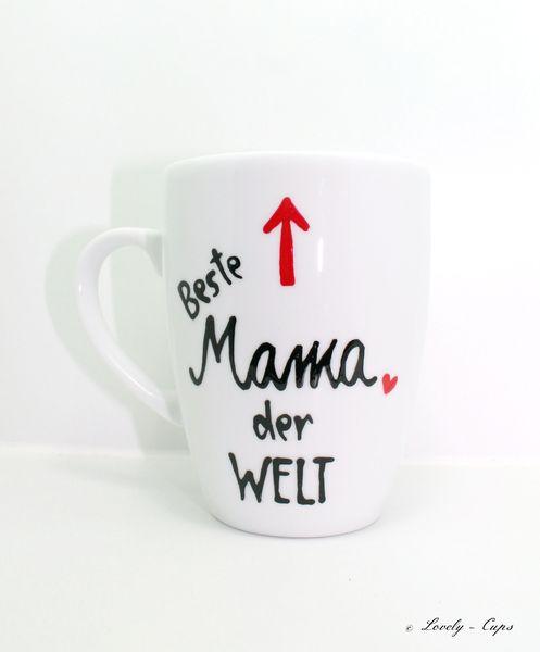 sch ne muttertag tasse f r mamas muttertags fest von lovely cups via muttertag. Black Bedroom Furniture Sets. Home Design Ideas