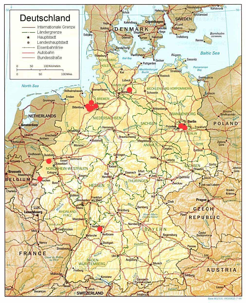 Krefeld Deutschlandkarte Deutschlandkarte Krefeld Mit Bildern