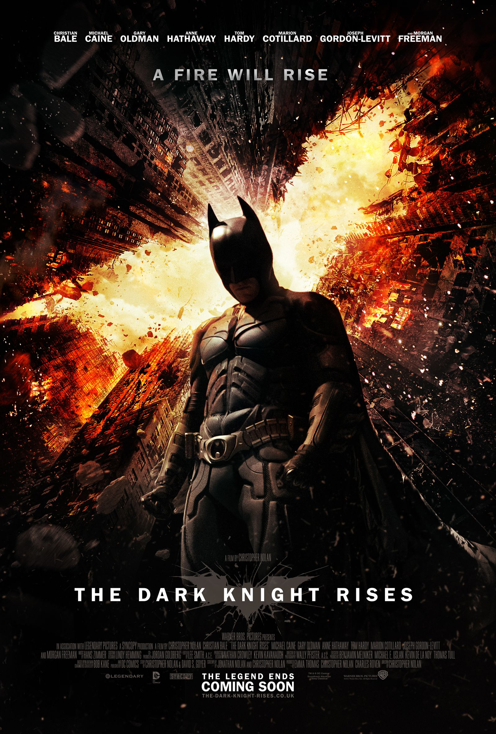 Brand New Darkknightrises Poster Countdown To It S Release With