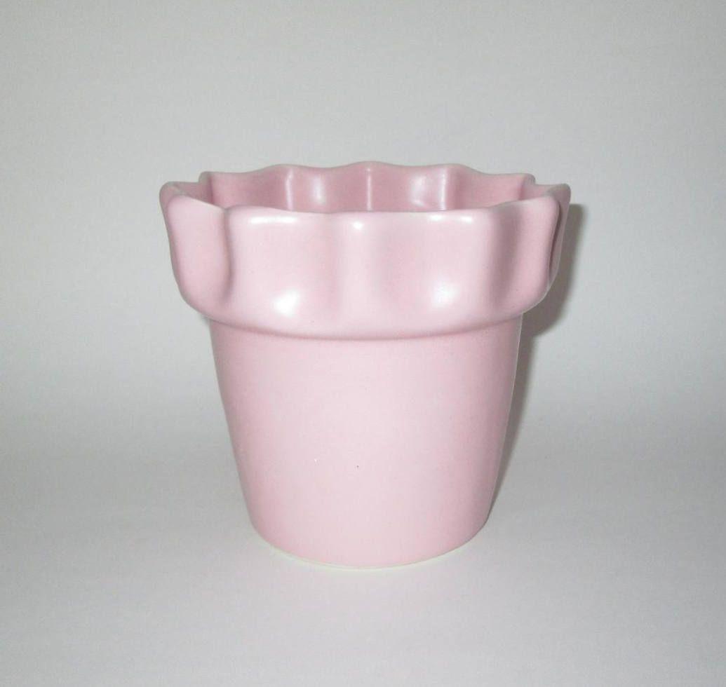 Vintage Pink Planter Pink Ceramic Planter Pot Pink Planter