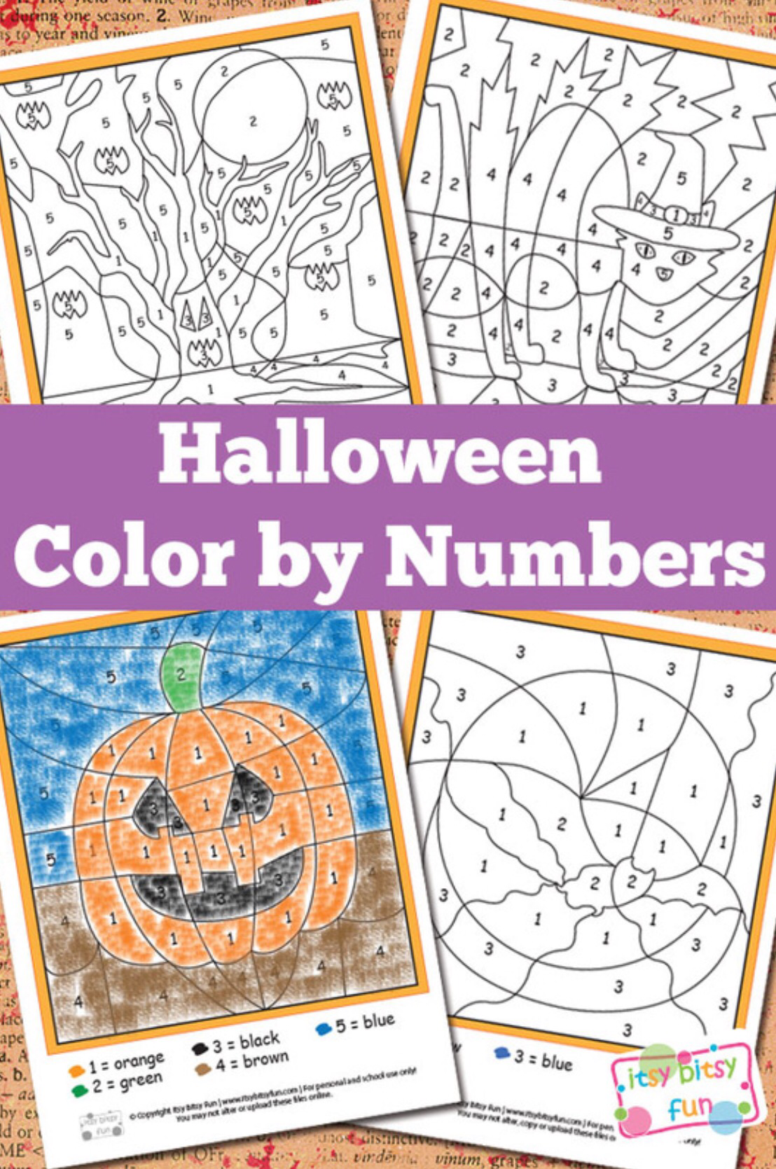 Color By Numbers Worksheet Round Up With Images