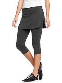 34ff1b3840d25 Women's Active by Old Navy 2-in-1 Skirt Capris | Health & Beauty ...