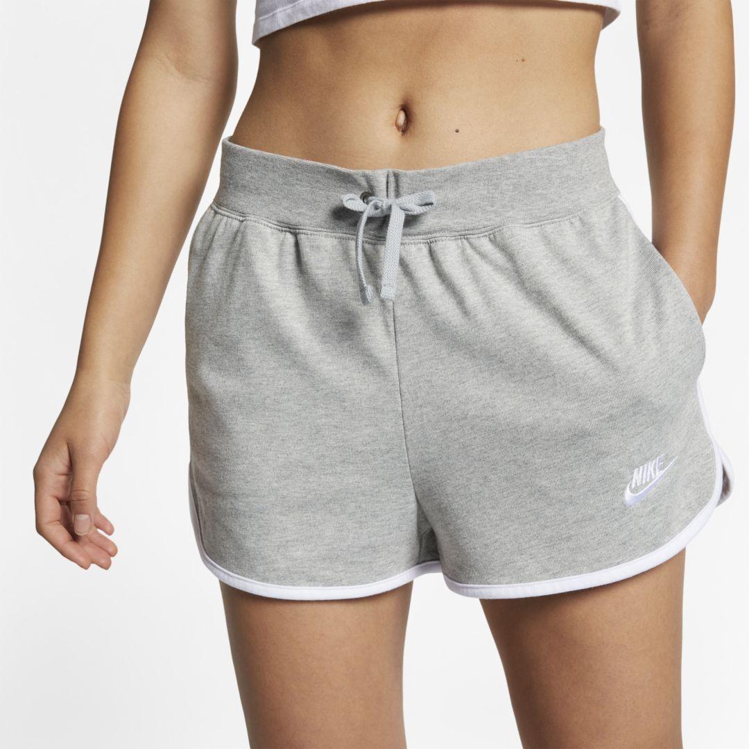 Nike Sportswear Women's Jersey Shorts Size XL (Dark Grey ...