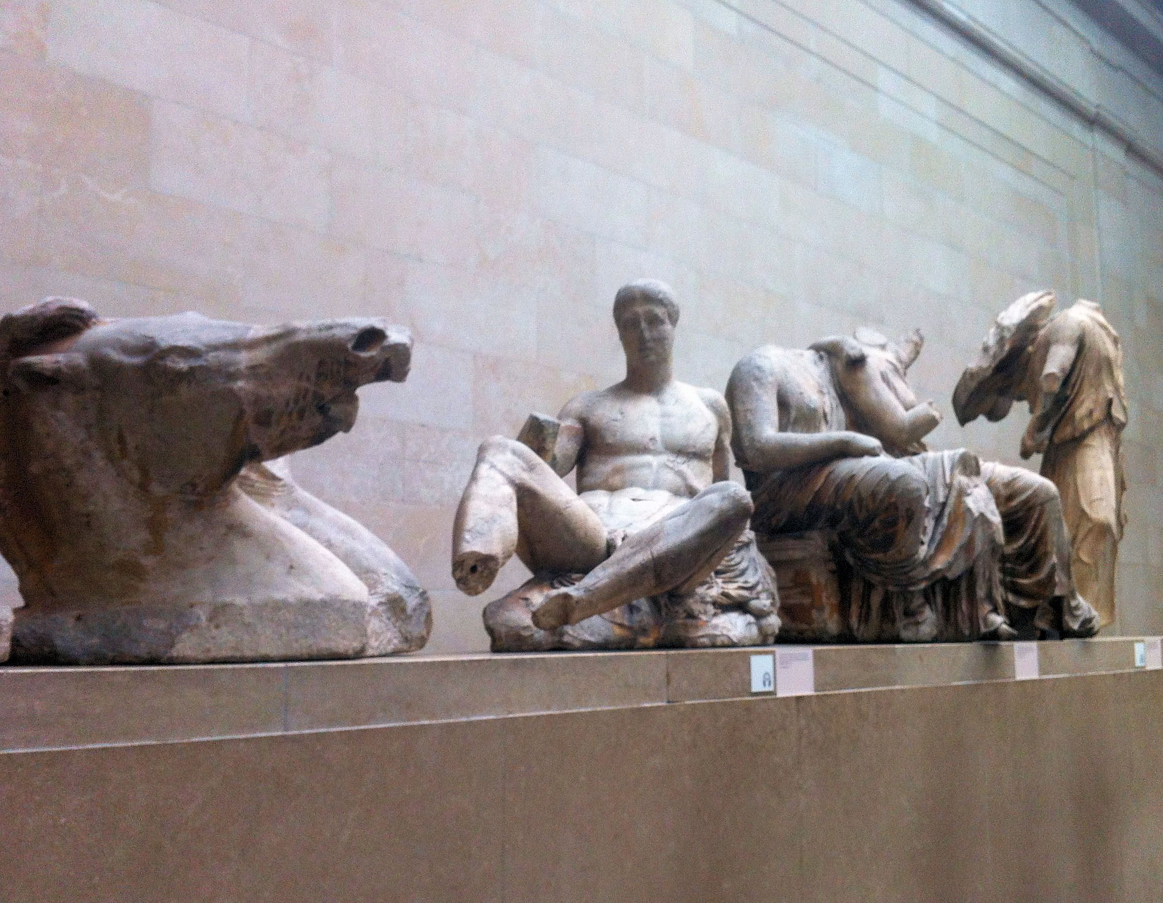 The Elgin Marbles Taken From The Acropolis In Athens To Protect Them From Further Damage And Now Proudly Displaye Elgin Marbles British Museum Lion Sculpture