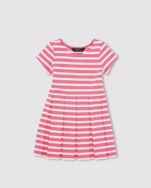 31b57299834 Vestido de niña Polo Ralph Lauren con rayas bicolor | SS 2016 KIDS ...