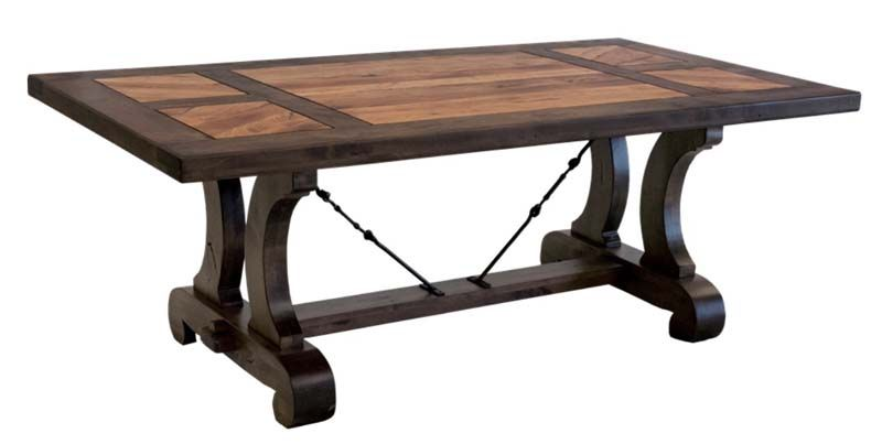 Lagos Handcrafted Dining Table Western Dining Tables Handcrafted