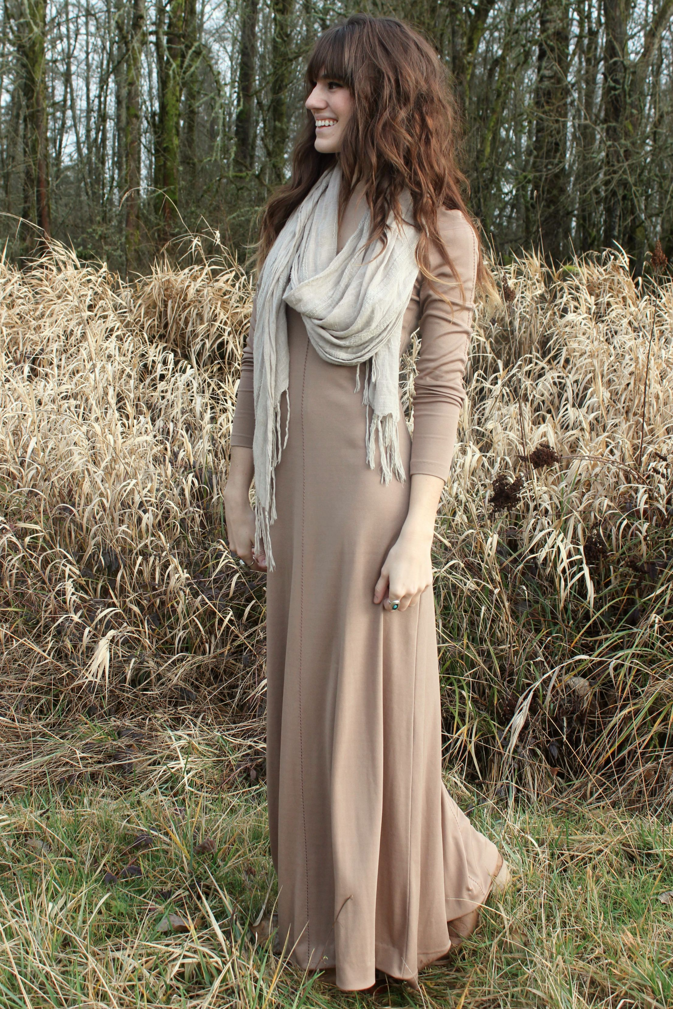 The Moptop Touch Of Grey Vintage Maxi Dress Modest Dresses Dresses [ 3317 x 2213 Pixel ]