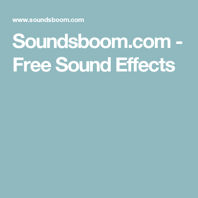 Soundsboom free sound effects premiere y after effects free sound effects spiritdancerdesigns Image collections