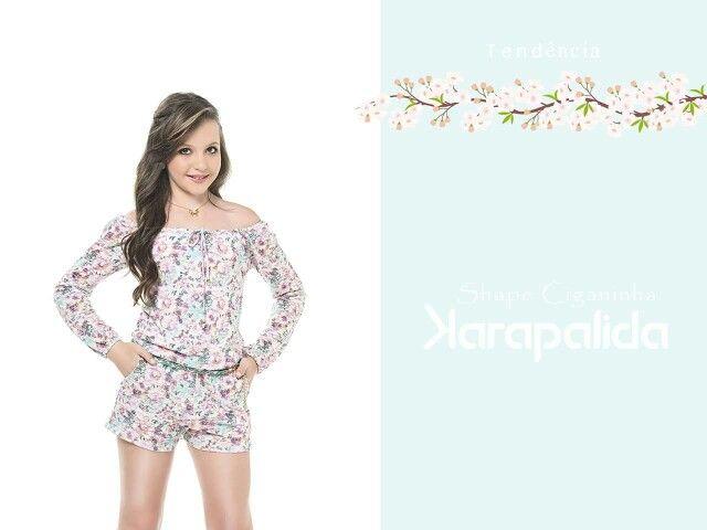 Macacão, com shape ciganinha, charmoso e delicado! #karapalida #inverno2016 #ciganinha