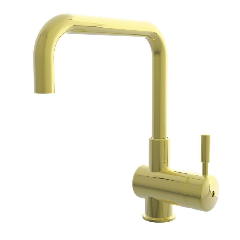 Newport Brass 9401 East Square Single Handle Single Hole Kitchen Faucet  With Met