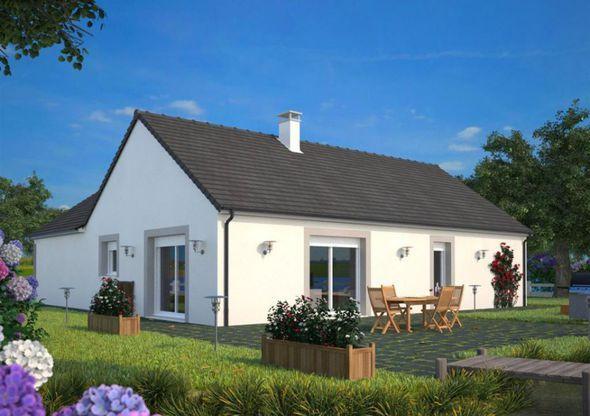 Maison - Lumina 106 G - Maisons France Confort - 106 m2 Faire - construire sa maison budget