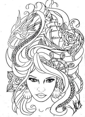Pin de jennifer g en Coloring Pages for Adults | Pinterest | Dibujo