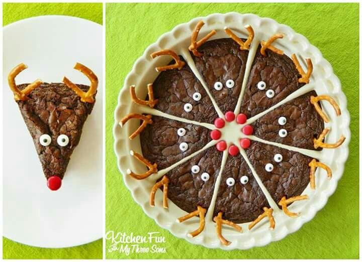 Reindeer Brownies!