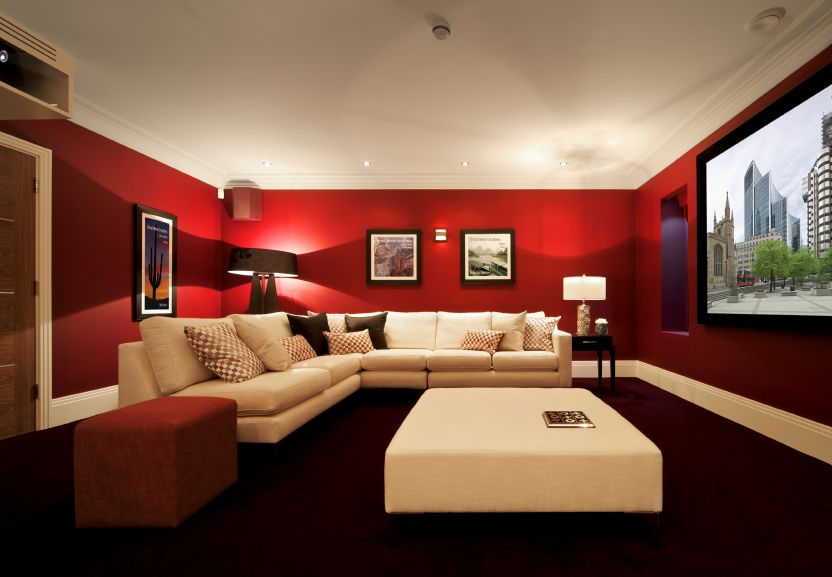 22 Luxury Home Media Room Design Ideas Incredible Pictures Media Room Paint Colors Basement Colors Home Theater Rooms