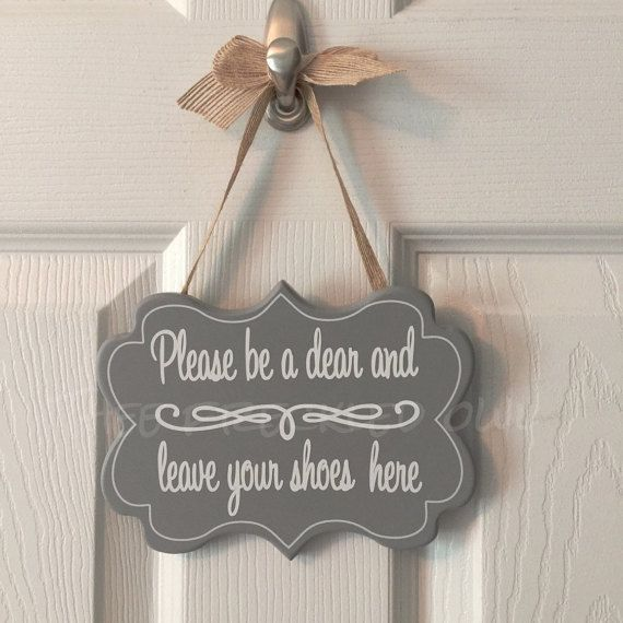 Bathroom Sign Si No remove your shoes sign printable art,take shoes off sign,mud room