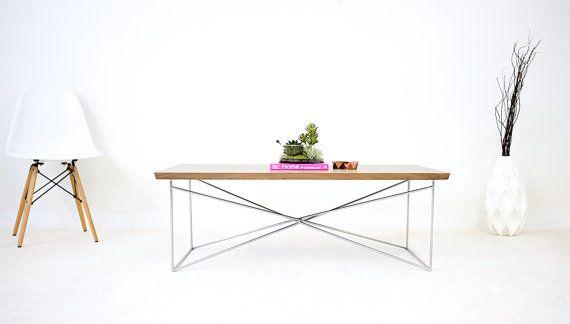 Modern Walnut Coffee Table The Miami Walnut Coffee Table Steel Table Modern Coffee Tables