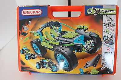 New Erector Brand Extreme Erector Construction Set With Carry Case