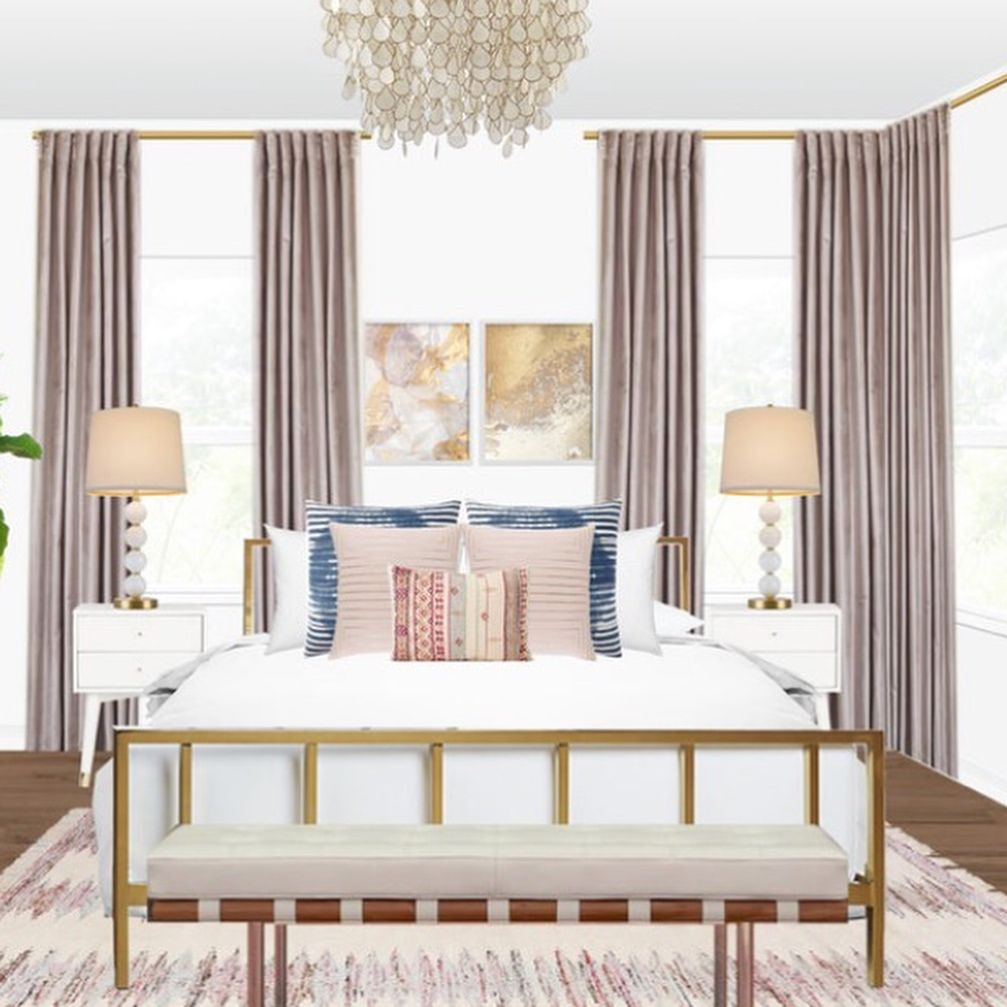 This Los Angeles Bedroom Designed By Jordan Is Just One Of