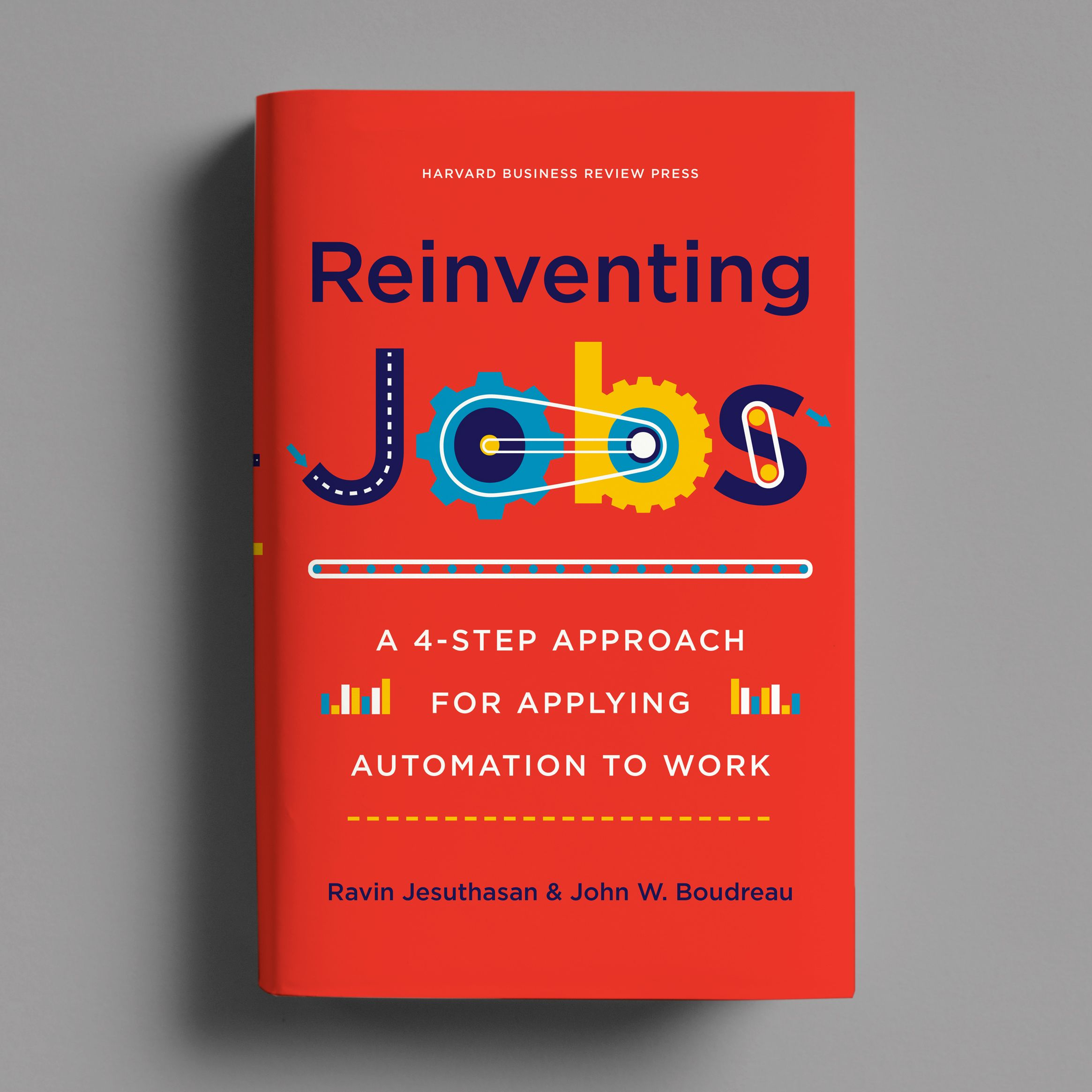 Reinventing Jobs Cover By Casalino Design Inc Harvard Business