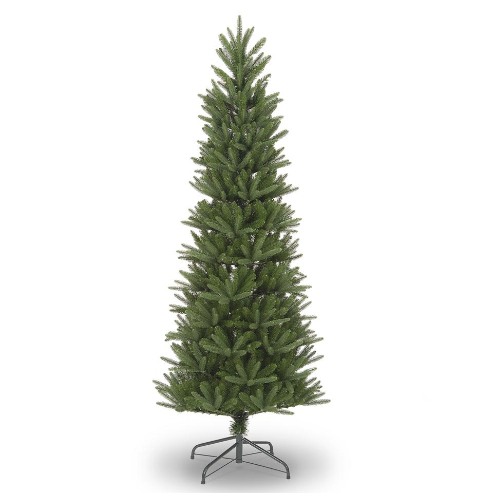 7ft 6in Aspen Luxury Premium Slim PE Christmas Tree - Slim Trees ...