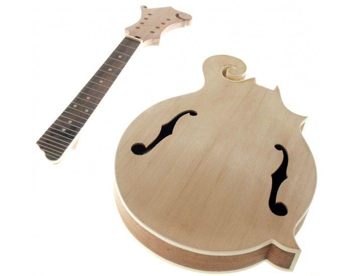 Solo F Style Mandolin Kit Sapele Body Spruce Top Mandolins