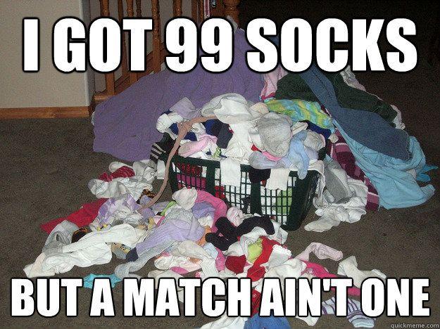 Image result for mismatched socks funny