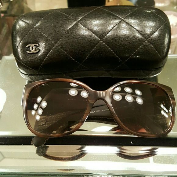 Chanel tweed Authentic 5037 CHANEL Accessories Sunglasses