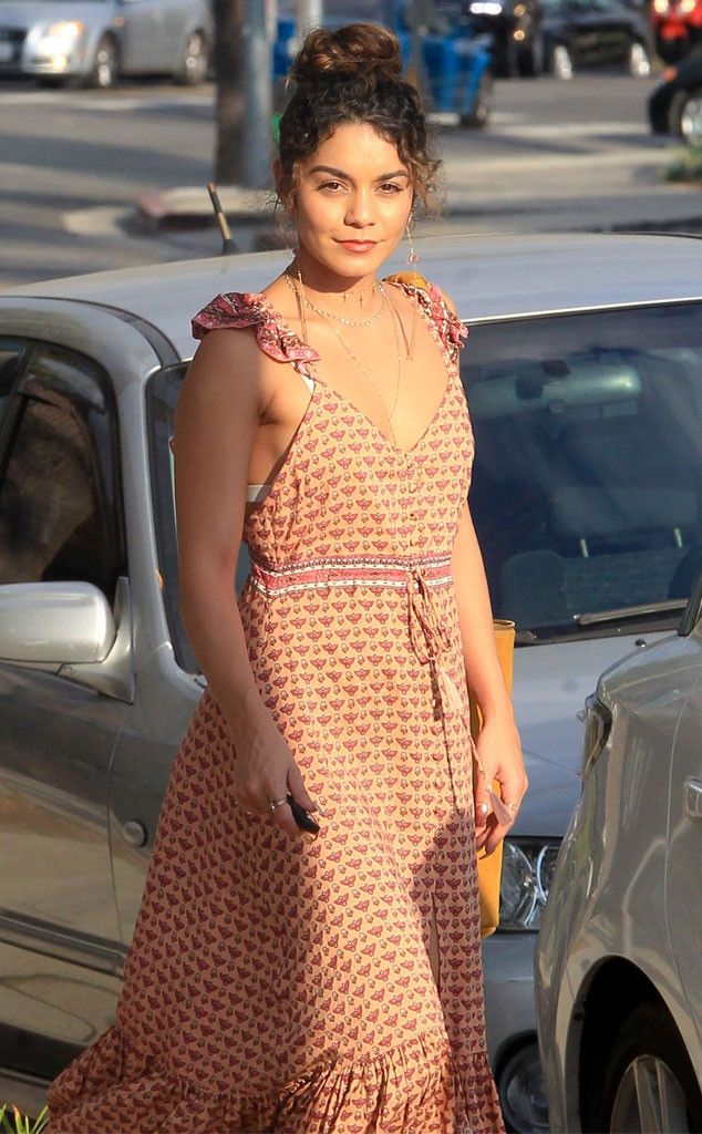 Vanessa Hudgens from The Big Picture: Today's Hot Pics  Bohemian beauty! The actress glows during an outing in Studio City, Calif.