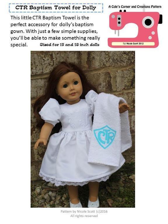 9 Name Sewing Free Ctr Baptism Towel Tutorial Sewing Crafts
