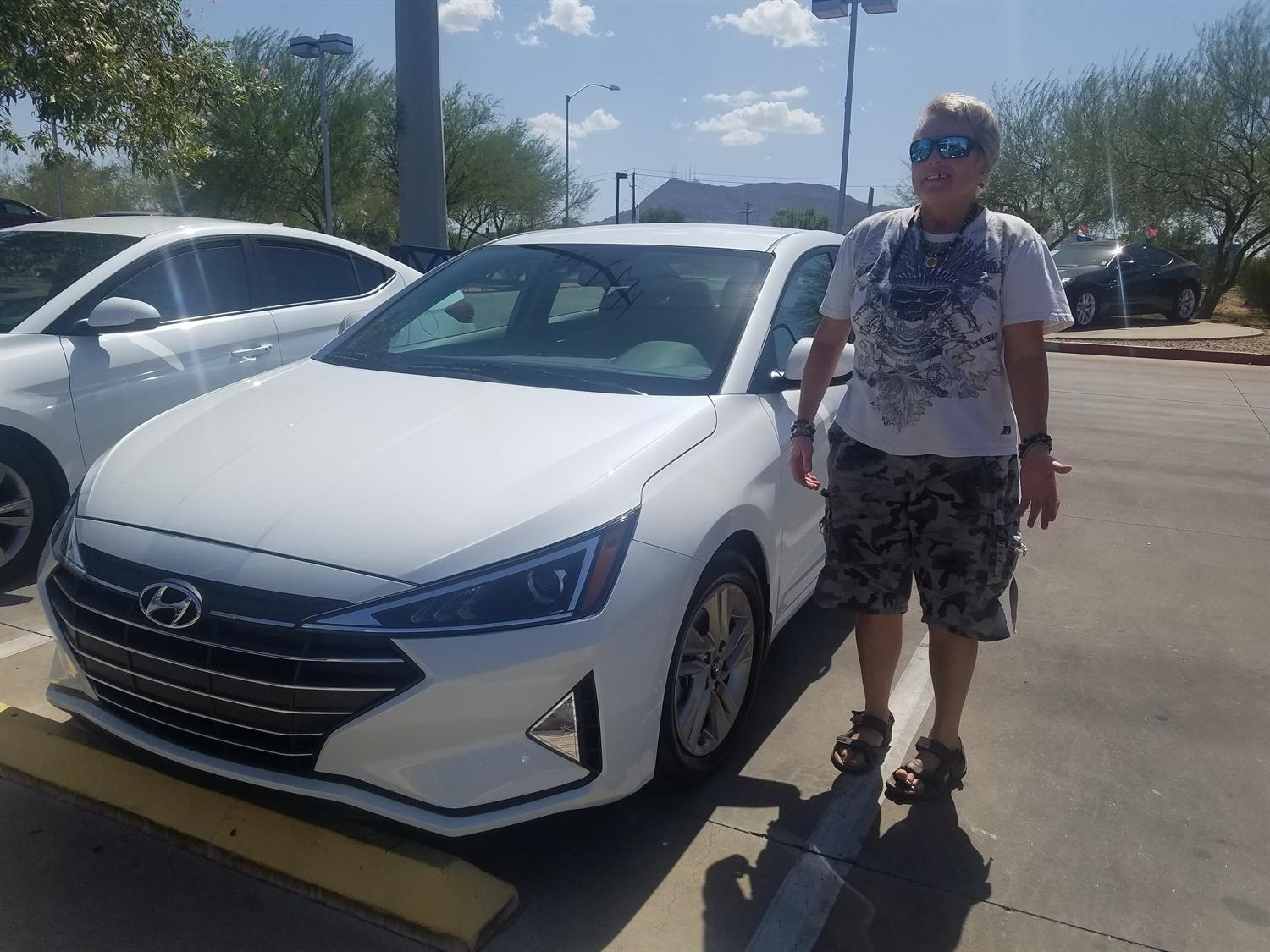 Awesome! Congratulations to JOYCE on your new 2020 HYUNDAI