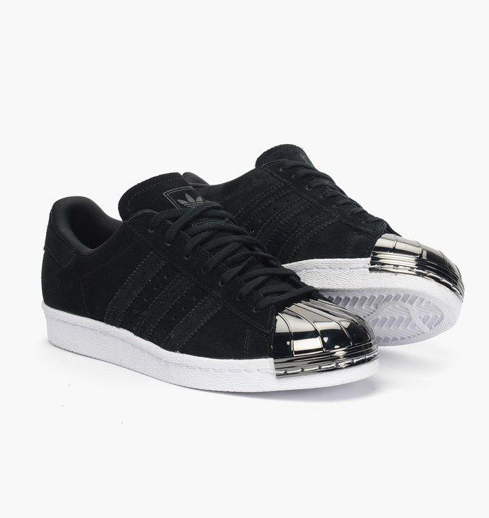 Infos Adidas Originals Wmns Superstar 80s 'Metal Toe' Color: Core Black,Off