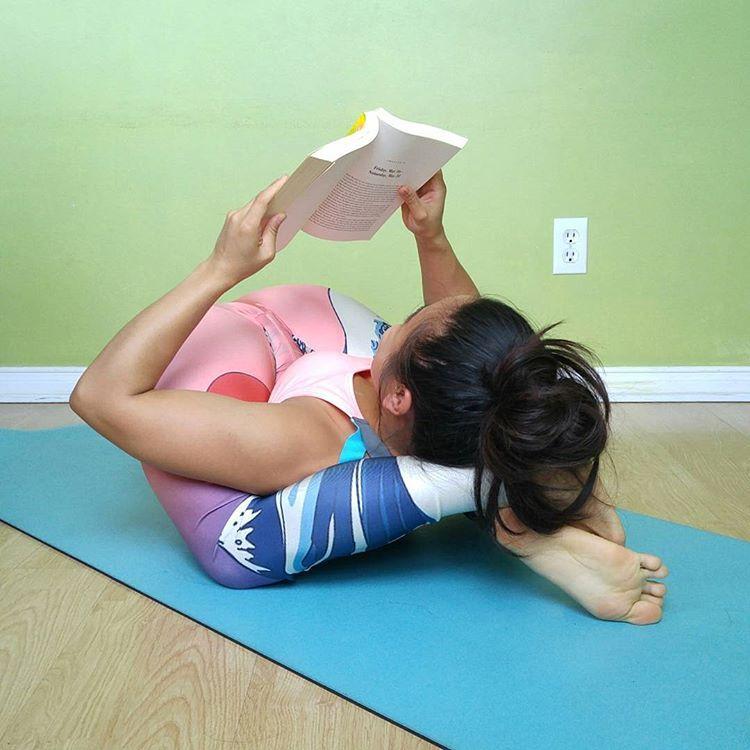 Ashtanga yoga yoga nidrasana front curl knotfront bending part 2 - 4 9