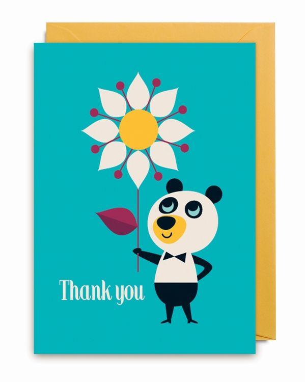 Ingela Thank You Bear wenskaart from www.kidsdinge.com https://www.facebook.com/pages/kidsdingecom-Origineel-speelgoed-hebbedingen-voor-hippe-kids/160122710686387?sk=wall http://instagram.com/kidsdinge