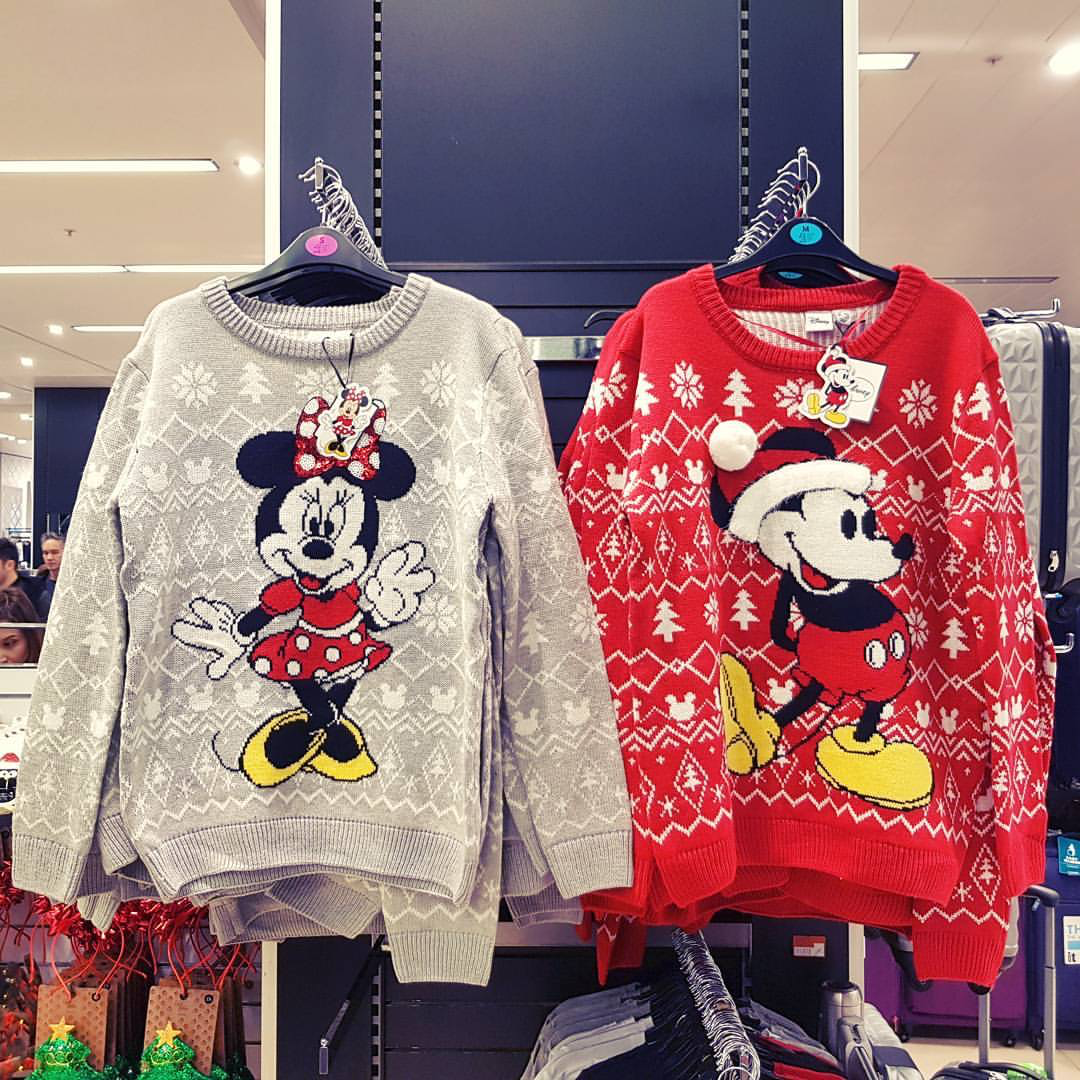 Primark is selling a range of Disney Christmas jumpers and