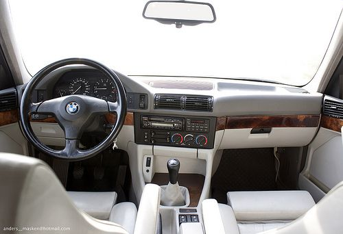 Bmw 540i 6 Speed 128 797 E34 Bmw Interior Bmw E34 Bmw Classic Cars