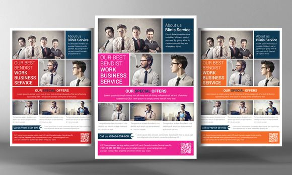 Corporate Business Flyer Template By Business Templates On Creative