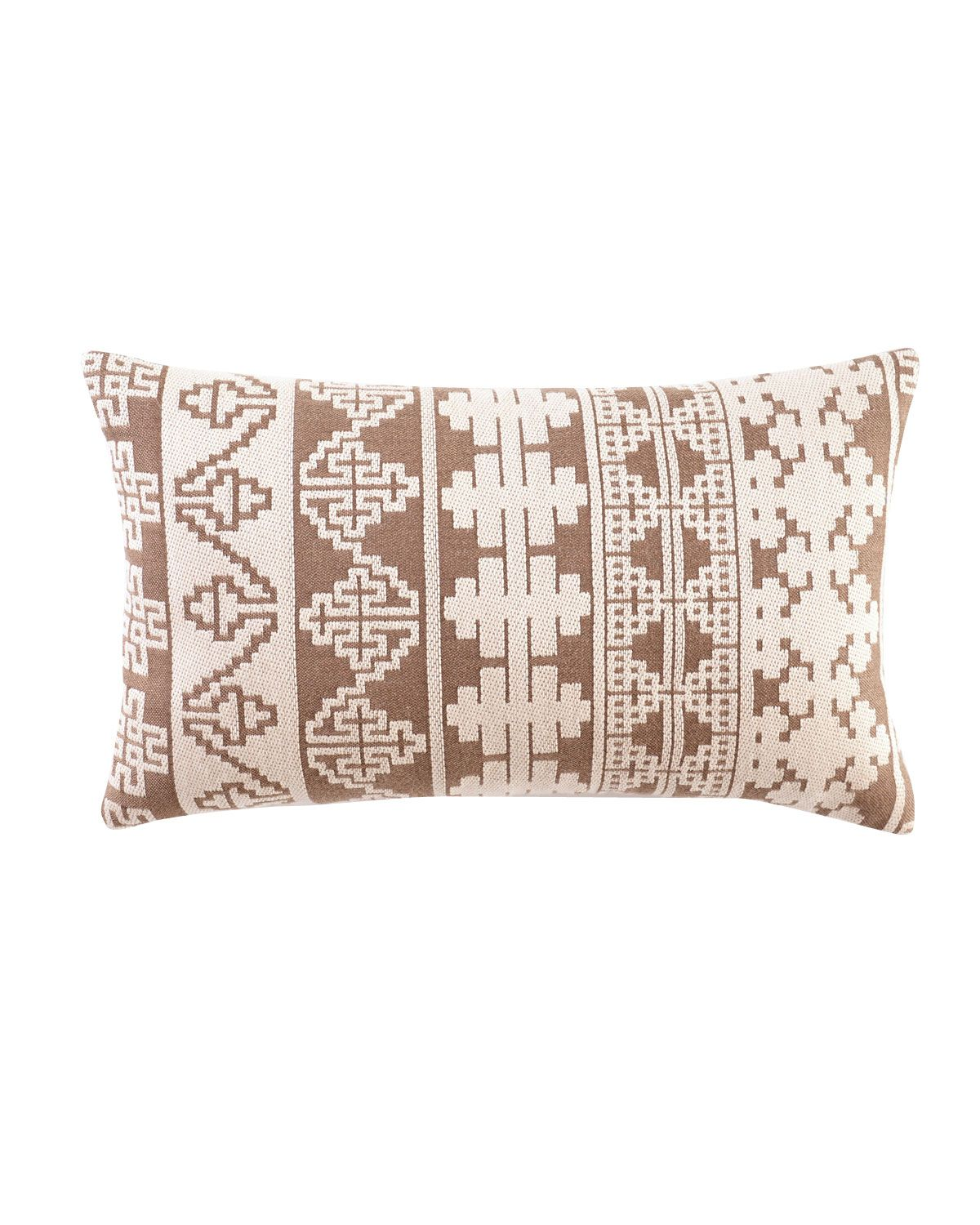 ELAINE SMITH Global Blue, Tan, U0026 Brown Outdoor Pillows   Horchow