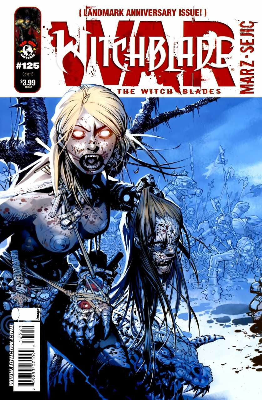 Witchblade #125 - War Of The Witchblades, Part 1 (Issue)