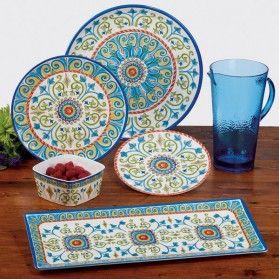 Certified International Tuscany Melamine Dinnerware Set .  sc 1 st  Pinterest & Certified International Tuscany Melamine Dinnerware Setu2026 | Ceramics ...