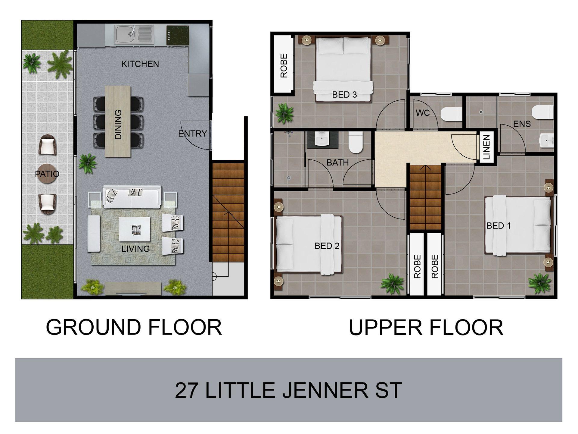 2d Plan Symbols Colour Floor Plan Symbols 2d Colour Architectural Symbols Top View Furniture Floor Plans Rendered Floor Plan 3d Architectural Visualization