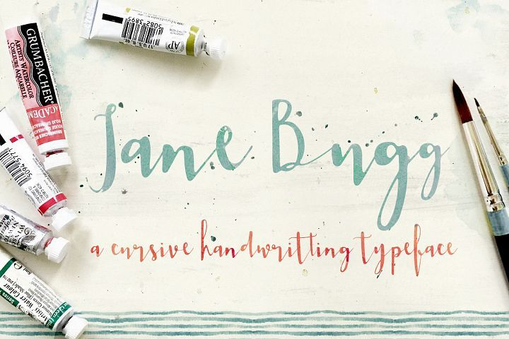 Jane Bugg from FontBundles.net